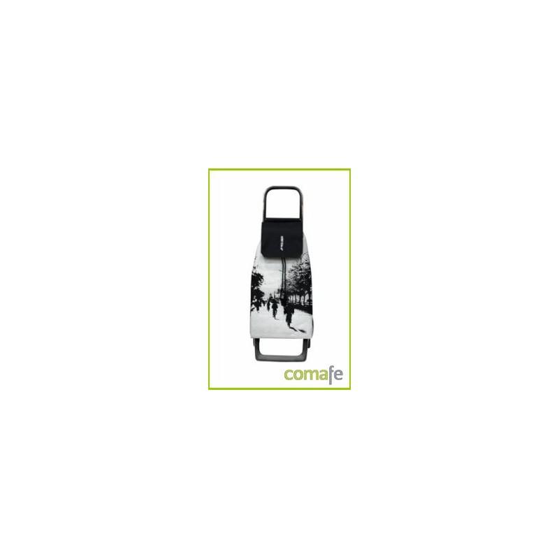 CARRO COMPRA 2R 45LT PLATA JET016 ROLSER - Imagen 1