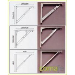 ESCUADRA ABATIBLE CROMO 40CR40 - Imagen 1