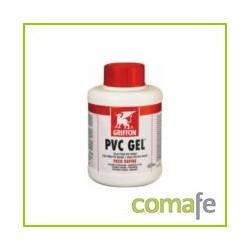 ADHESIVO GEL RAPIDO PARA PVC RIGIDO  BOTE 250 ML C/PINCEL - Imagen 1