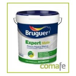 PINTURA PLASTICA MATE BLANCA EXTERIOR EXPERT 15 LTS BRUGUER - Imagen 1