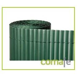CAÑIZO DOBLE 1X5 MT VERDE PLASTICO - Imagen 1