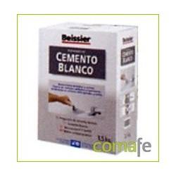 CEMENTO BLANCO POLVO INTER/EXTE BEISSIER ESTUCHE 1,5KG 619 - Imagen 1