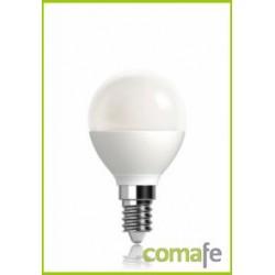 LAMPARA ESFERICA LED E14 4,5W 380LM 2700K MATE - Imagen 1