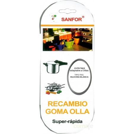 GOMA SILICONA OLLA SUPER RAPIDA GRIS FAGOR BLISTER - Imagen 1