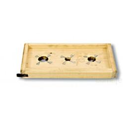 TABLA RAJAR ACEITUNAS 330X170MM FLORES CORTES - Imagen 1