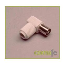 CONECTOR ACODADO HEMBRA 9,5 MP-563-E - Imagen 1