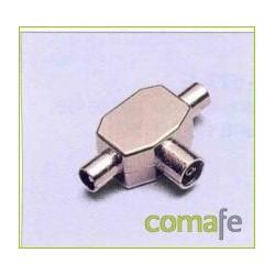 CONECTOR TRIPLE 9,5 MP-605-E - Imagen 1