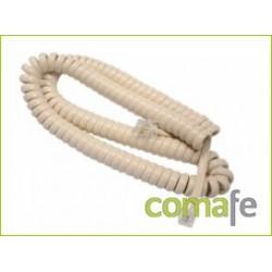 CABLE RIZADO LARGO MARFIL 071E - Imagen 1