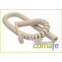 CABLE RIZADO TELEF.MARFIL 053E - Imagen 1