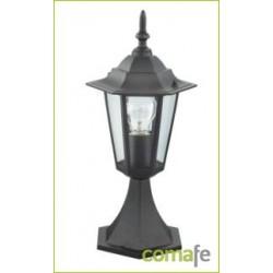 LAMPARA SOBREMURO ORLANDO E-27 60 W NEGRO ILLUX1103Z - Imagen 1