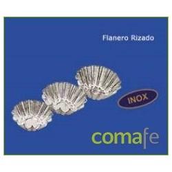 FLANERO RIZADO ACERO INOX 10 CM.612 - Imagen 1
