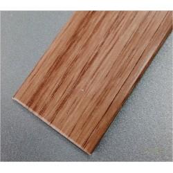 PERFIL PVC PLAQUETA PLANO ADHESIVO INOX 35MMX1MT - Imagen 1