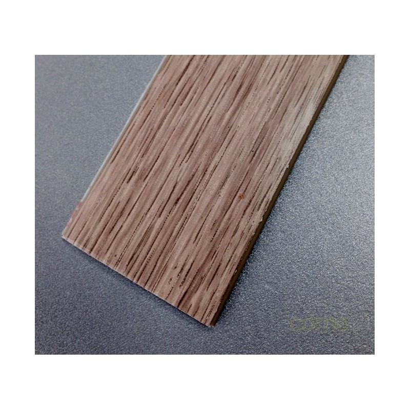 PERFIL PVC PLAQUETA PLANO ADHESIVO ROBLE BLANCO 35MMX1MT - Imagen 1