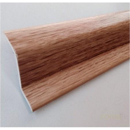 PERFIL PVC PLAQUETA Z ADHESIVO ROBLE 37MMX1MT - Imagen 1