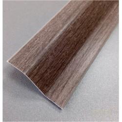 PERFIL PVC PLAQUETA Z ADHESIVO ROBLE GRIS 37MMX1MT