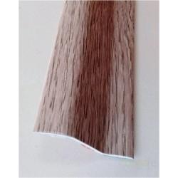 PERFIL PVC PLAQUETA Z ADHESIVO ROBLE BLANCO 37MMX1MT - Imagen 1
