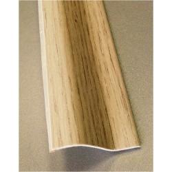 PERFIL PVC PLAQUETA Z ADHESIVO ROBLE POLAR 37MMX1MT - Imagen 1