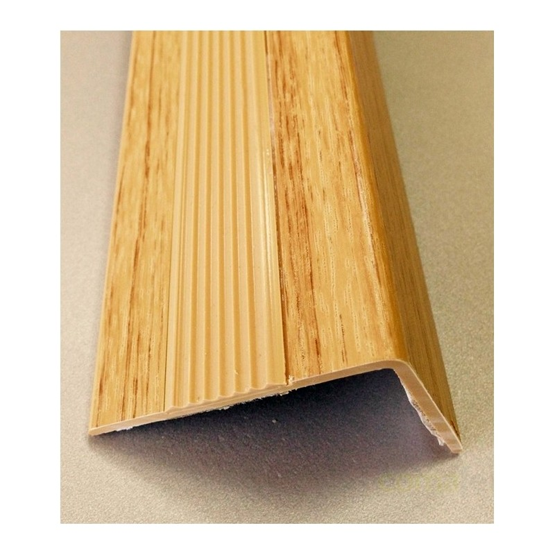 CANTONERA PVC ADHESIVA ROBLE ANTIDESLIZANTE 50MMX2MT - Imagen 1