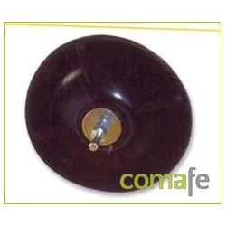 PLATO GOMA 125X6 MM. 6633800 UNIDAD - Imagen 1