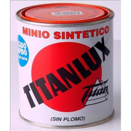 MINIO SINTETICO SIN PLOMO TITANLUX NARANJA  4LTS 062304004 - Imagen 1