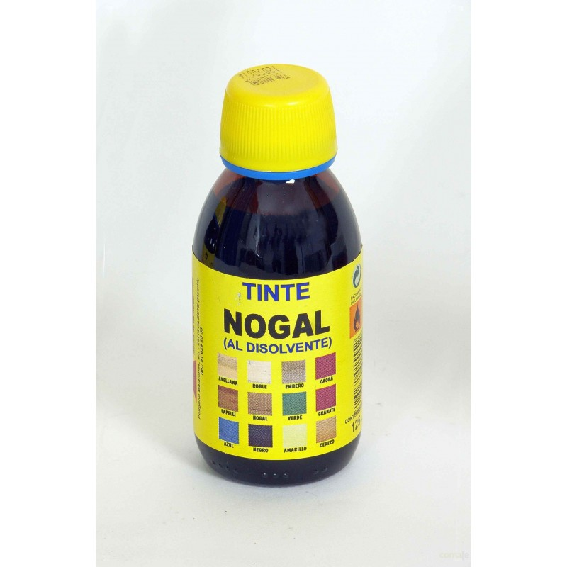 TINTE PARA MADERA AL DISOLVENTE NOGAL 125ML PROMADE - Imagen 1