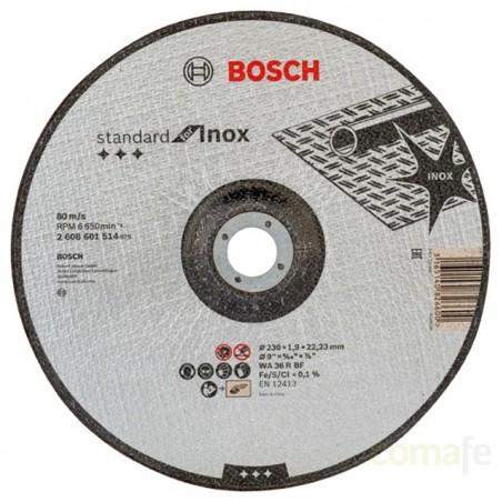 DISCO CORTE INOX CONCAVO 230X1,9X22,23 - Imagen 1