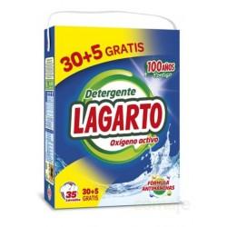 DETERGENTE MAQUINA MALETA OXIGENO ACTIVO 30+5 DOSIS LAGARTO - Imagen 1