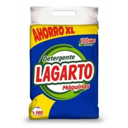 DETERGENTE MAQUINA SACO 10KG 125 LAVADOS LAGARTO - Imagen 1