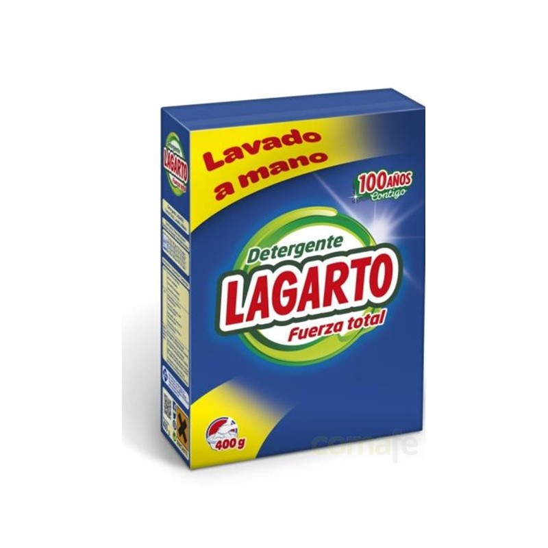 DETERGENTE LAVADO MANO 400GR LAGARTO - Imagen 1