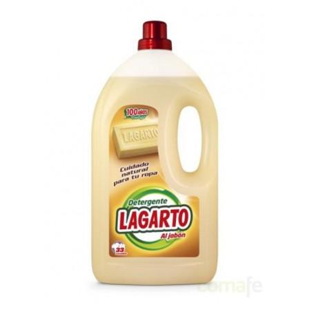 DETERGENTE LIQUIDO AL JABON 3LT LAGARTO - Imagen 1