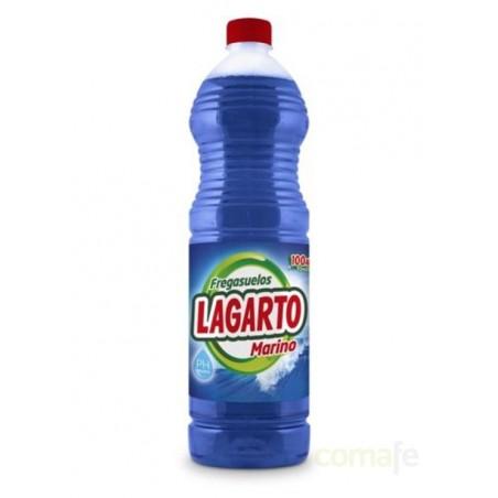 FREGASUELOS AZUL 1,5LT LAGARTO - Imagen 1
