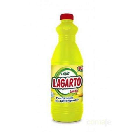 LEJIA CON DETERGENTE LIMON 1,5LT LAGARTO - Imagen 1