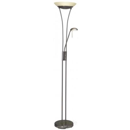 LAMPARA PIE LED FINN 18W 1800LM CROMO CRISTAL - Imagen 1
