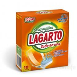 LAVAVAJILLAS MAQUINA PASTILLA 10PZ LAGARTO