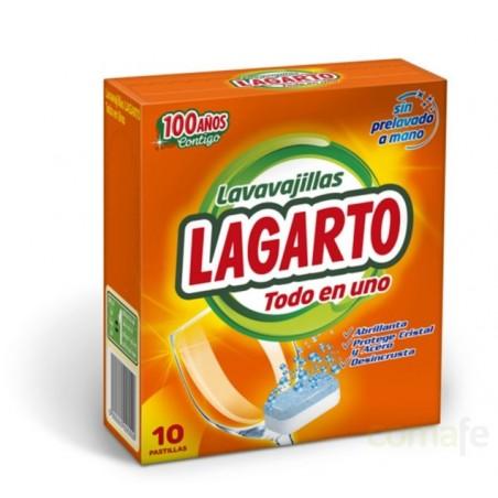 LAVAVAJILLAS MAQUINA PASTILLA 10PZ LAGARTO - Imagen 1