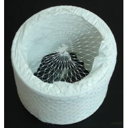TUBO AIREACION EXTENSIBLE PVC/INOX INOX 80MM SANEAPLAST - Imagen 1