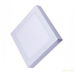 DOWNLIGHT LED CUADRADO EMPOTRABLE BLANCO-6000K 20W SILVER - Imagen 1