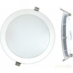 DOWNLIGHT LED EMPOTRAR PLANO BLANCO-4000K 12W - Imagen 1