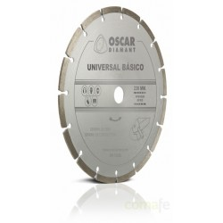 DISCO DIAMANTE UNIVERSAL BASICO 230MM. UNIDAD - Imagen 1
