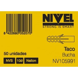 TACO  NVS 6 100PZ NIVEL - Imagen 1