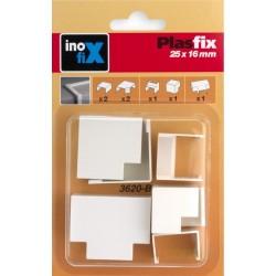 CANALETA ELEC 25X16MM PVC BL ACCS INOFIX - Imagen 1