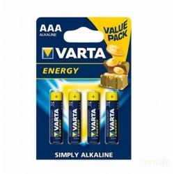PILA ALCALINA LR03 AAA 1,5V ENERGY VARTA - Imagen 1