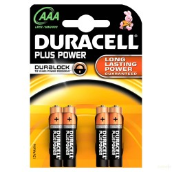 PILA ALCALINA LR03 AAA 1,5V POWER PLUS D - Imagen 1