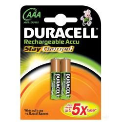 PILA RECARGABLE LR03 AAA 1,5V DURACELL 2 - Imagen 1