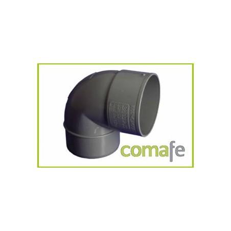 CODO PVC EVACUACION M-H 87º Ø 90 - Imagen 1