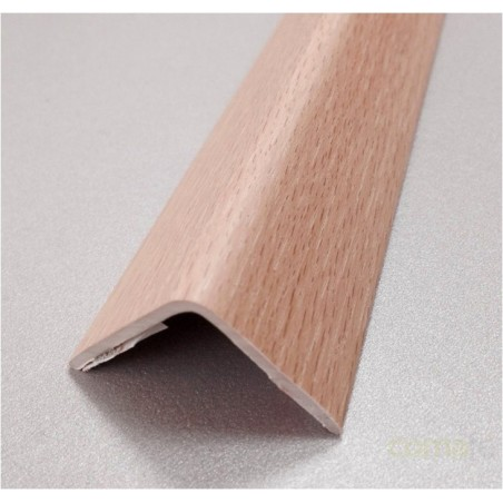 ESQUINERO PVC ADHESIVO ROBLE 25X25X2,60MT - Imagen 1