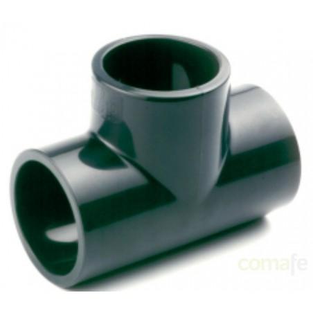 TE PVC PRESION 16BAR ENCOLAR H Ø 25 - Imagen 1