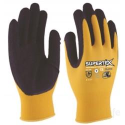 GUANTE MECANICO L09 P/LATEX RUG SUPERTEX NYL NAR 3L