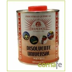DISOLVENTE UNIVERSAL NITRO 1 LT METALICO - Imagen 1