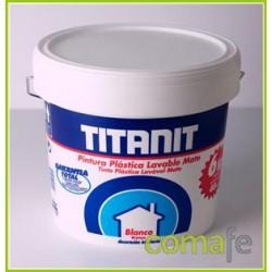 PINTURA PLASTICA INTERIOR 750 ML BLANCO - Imagen 1